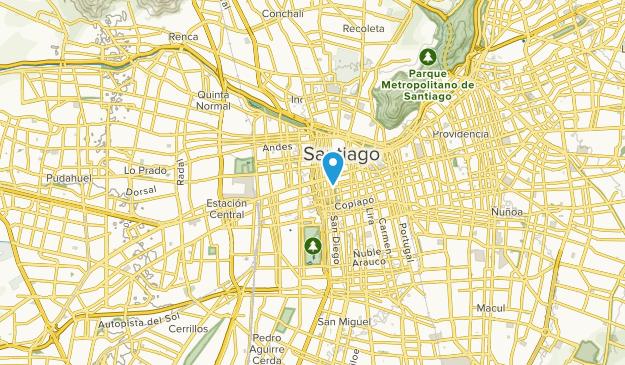 Santiago, Metropolitana Map