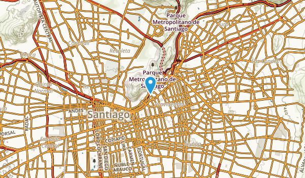 Providencia, Santiago Metropolitan Map