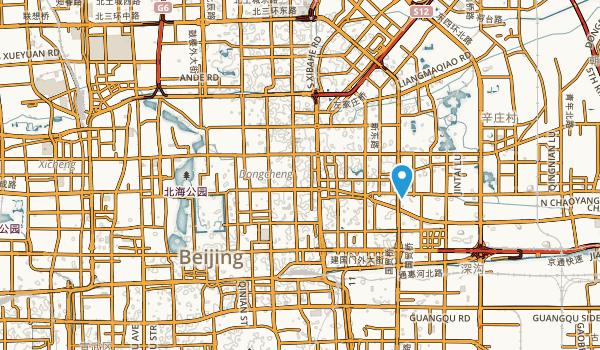 Beijing Shi, China Map