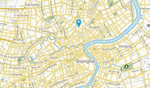 Shanghai Shi, China Map