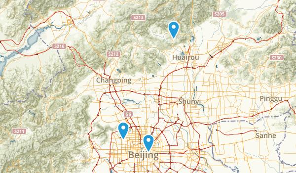 Beijing, Beijing Map