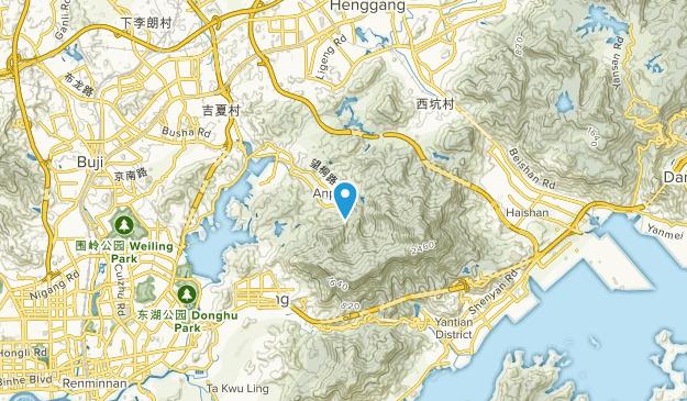 Anpingcun, Guangdong Map