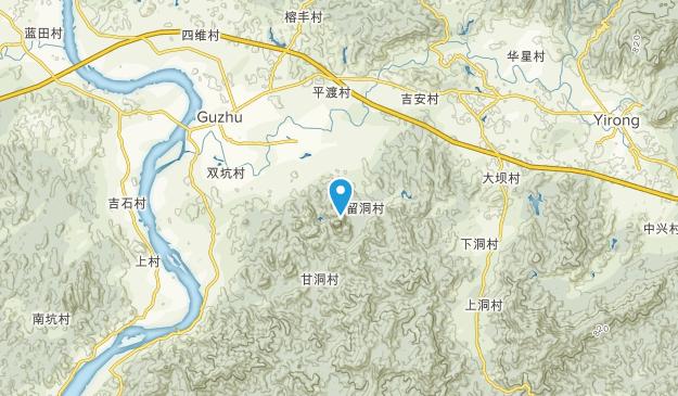 Piantang, Guangdong Map