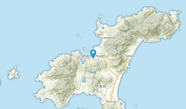 Shangchuan, Guangdong Map