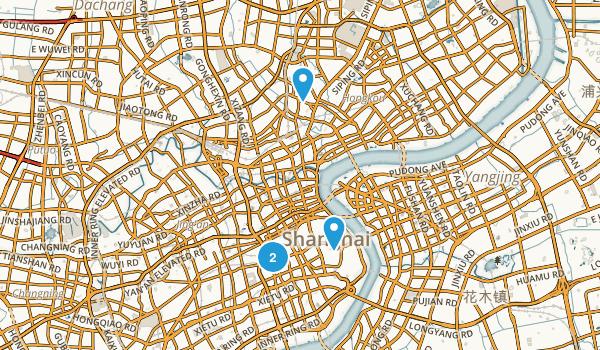 Huangpu Qu, Shanghai Map