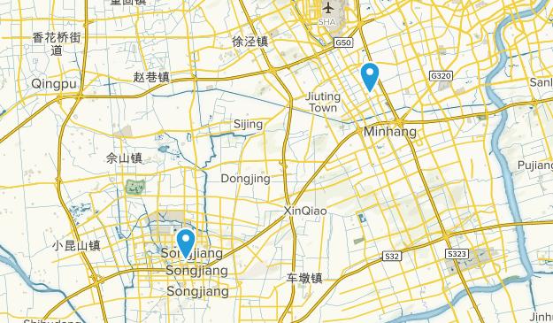 Shanghai, Shanghai Map