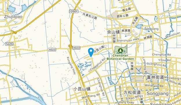 Tianmashan, Shanghai Map