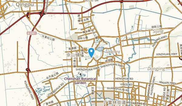 Xueshan, Shanghai Map