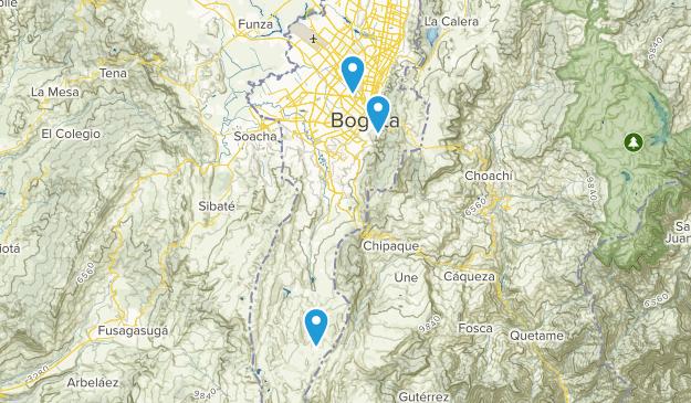 Beste Wege in der Nähe von Bogota, Cundinamarca Kolumbien ...