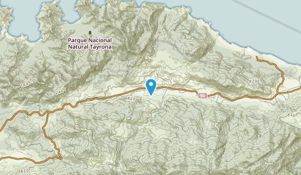 Jordán, Magdalena Map