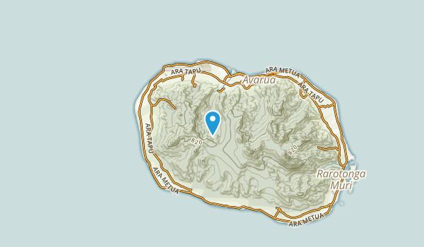 Avatiu, Rarotonga Map