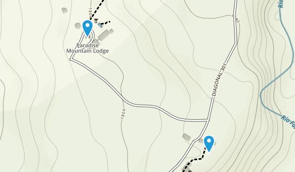 La Fortuna, Alajuela Map
