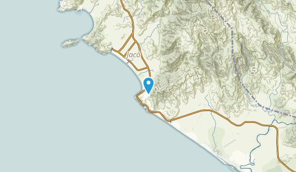 Garabito, Puntarenas Map