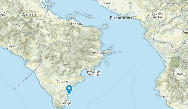 Malpais, Puntarenas Map