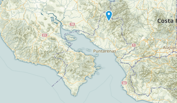 Puntarenas, Puntarenas Map