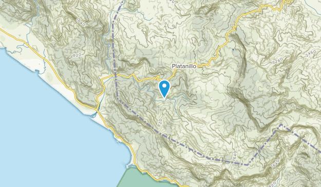 Pérez Zeledón, San José Map