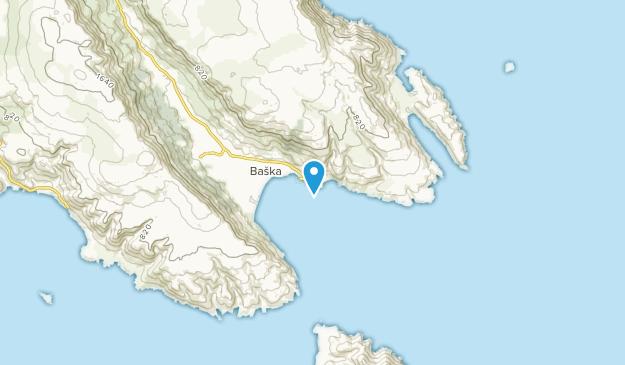 Baška, Primorsko-goranska županija Map