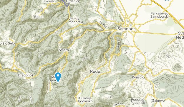 Samobor, Zagrebacka županija Map