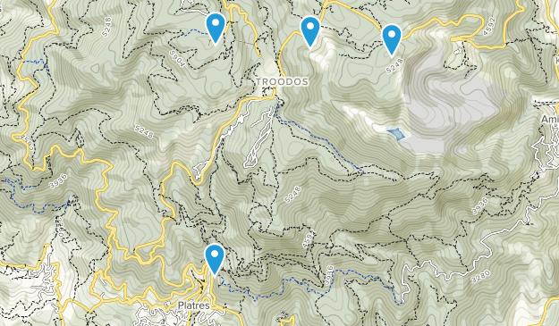 Πάνω Πλάτρες, Λεμεσός Map