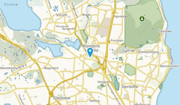 Kongens Lyngby, Hovedstaden Map