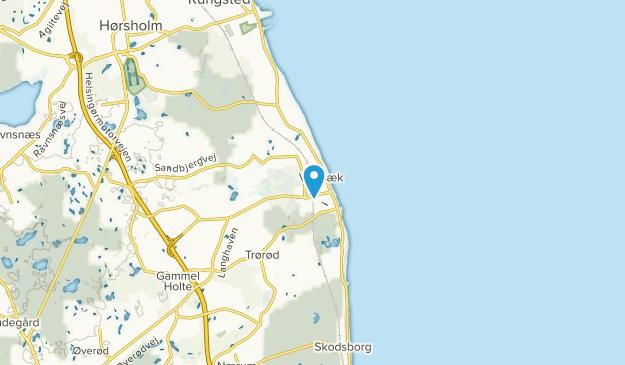 Vedbæk, Hovedstaden Map