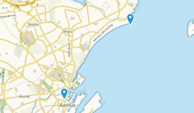 Århus, Midtjylland Map
