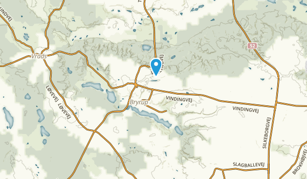Bryrup, Midtjylland Map