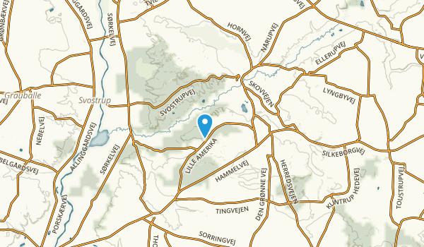 Gjern, Midtjylland Map
