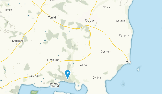 Odder, Midtjylland Map