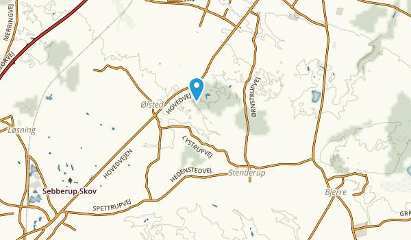 Stenderup, Midtjylland Map