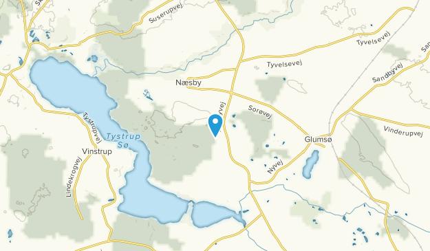 Næsby, Sjælland Map