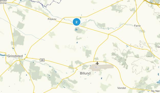 Billund, Syddanmark Map
