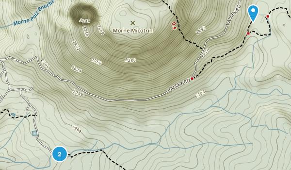 Laudat, Dominica Map