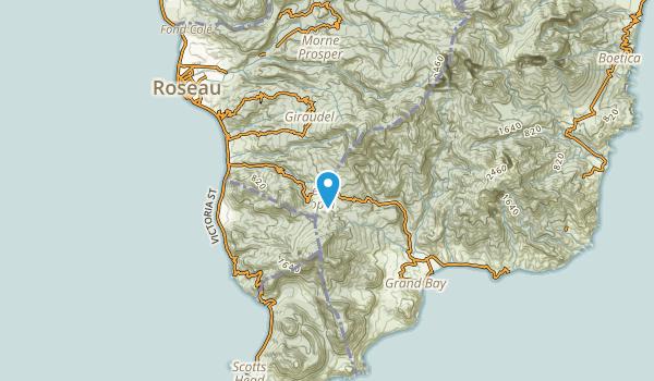 Roseau, Saint Joseph Map
