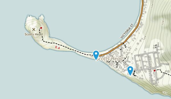 Scotts Head Village, Saint Mark Map