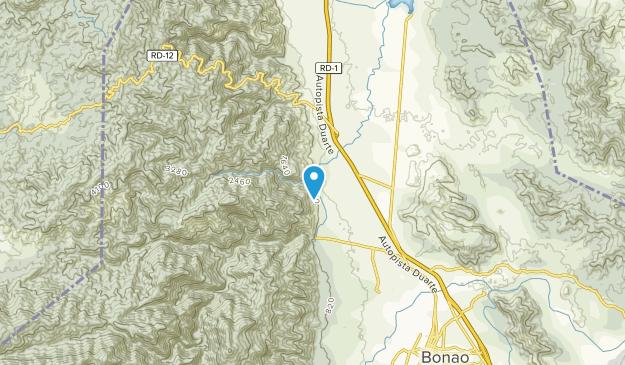 Bonao, Azua Map