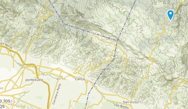 Santiago de los Caballeros, Azua Map