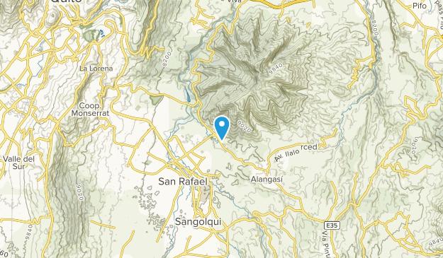 San Pedro del Tingo, Pichincha Map