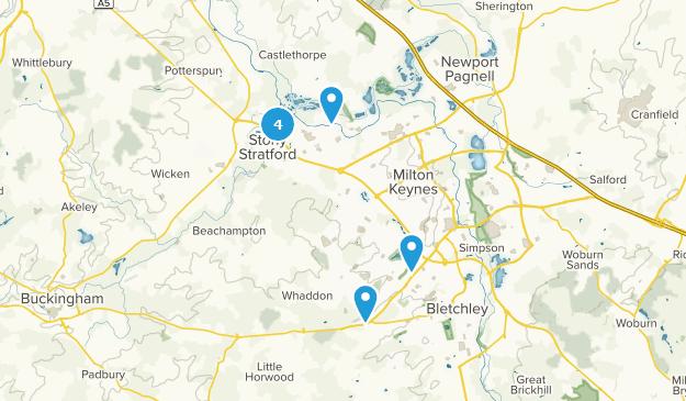 Map Of England Milton.Best Trails Near Milton Keynes Buckinghamshire England Alltrails