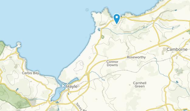 Map Of England Cornwall.Best Trails Near Hayle Cornwall England Alltrails