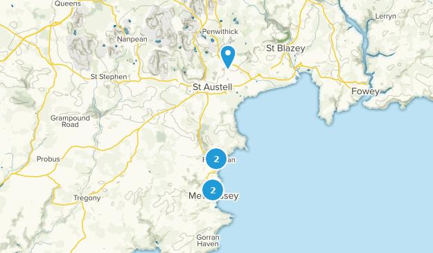 Map Of England Cornwall.Best Trails Near St Austell Cornwall England Alltrails