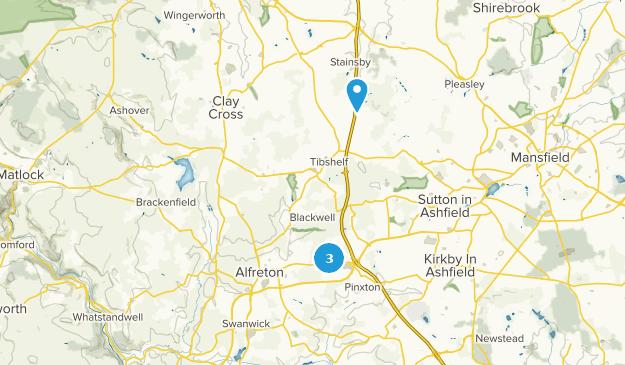 Map Of England Derbyshire.Best Trails Near Alfreton Derbyshire England Alltrails