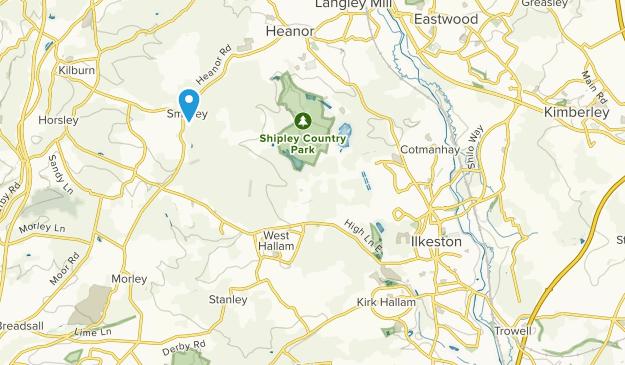 Map Of England Derbyshire.Best Trails Near Ilkeston Derbyshire England Alltrails