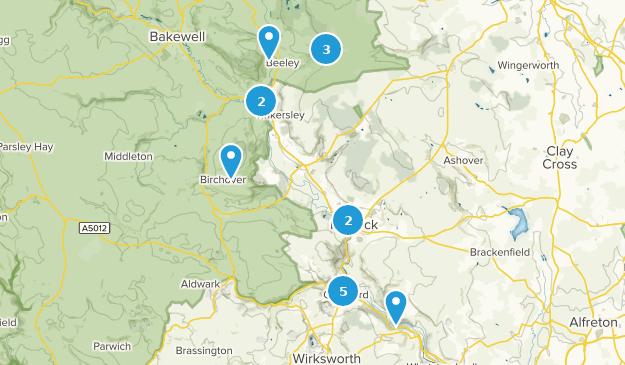 Map Of England Derbyshire.Best Trails Near Matlock Derbyshire England Alltrails