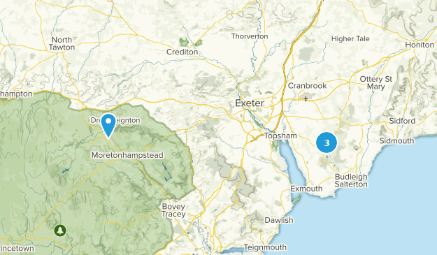 Best Trails Near Exeter Devon England Alltrails