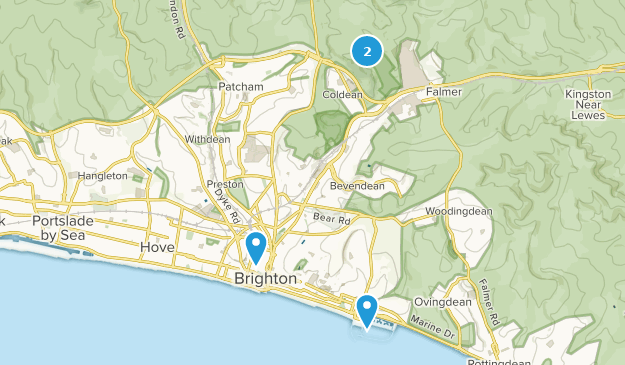 Map Of England Brighton.Best Trails Near Brighton East Sussex England Alltrails