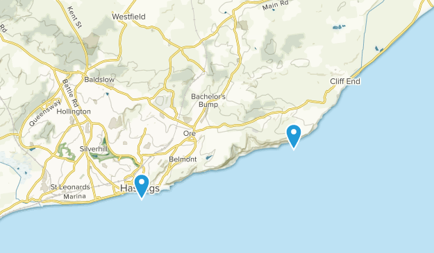 Map Of England Hastings.Best Trails Near Hastings East Sussex England Alltrails