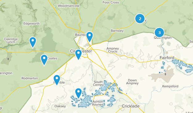 Map Of England Gloucestershire.Best Trails Near Cirencester Abbey Gloucestershire England Alltrails