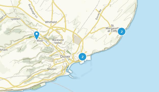 Map Of S England.Best Trails Near Dover Kent England Alltrails