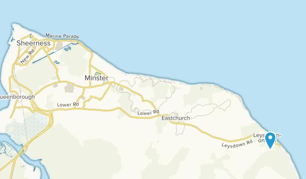 Map Of England Kent.Best Trails Near Sheerness Kent England Alltrails